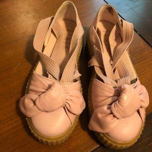 Puma Shoes - Fenty by Rihanna Puma Bow Creeper Sandal Pink